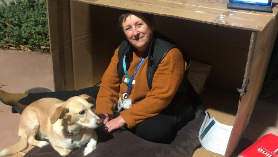 CALHN CEO smashes fundraising goals in first Vinnie's CEO Sleepout