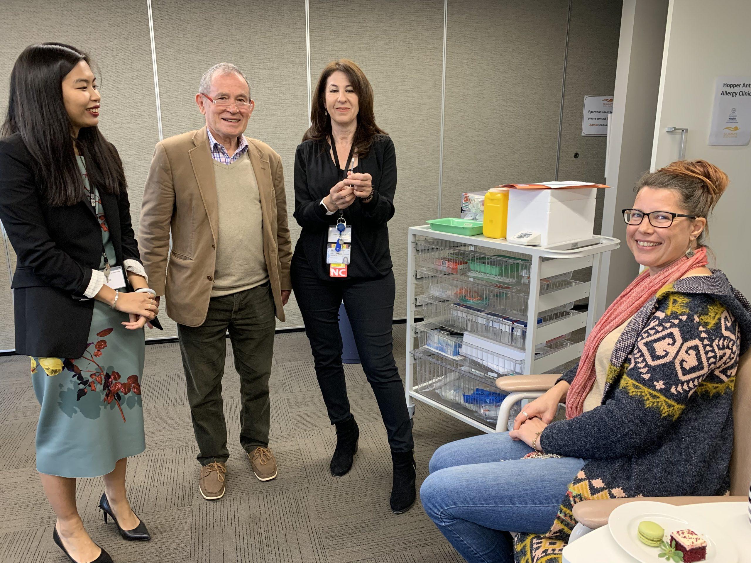 New hopper ant allergy clinic opens in Mount Barker