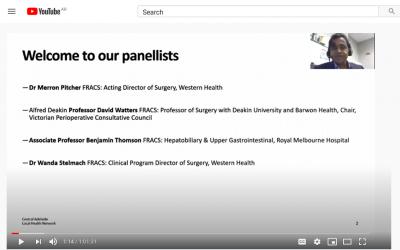 Global webinars provide invaluable learnings through pandemic