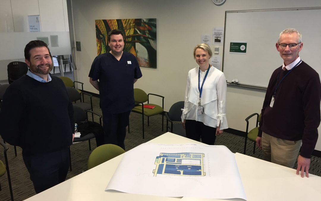 Staff and community help planning for TQEH redevelopment