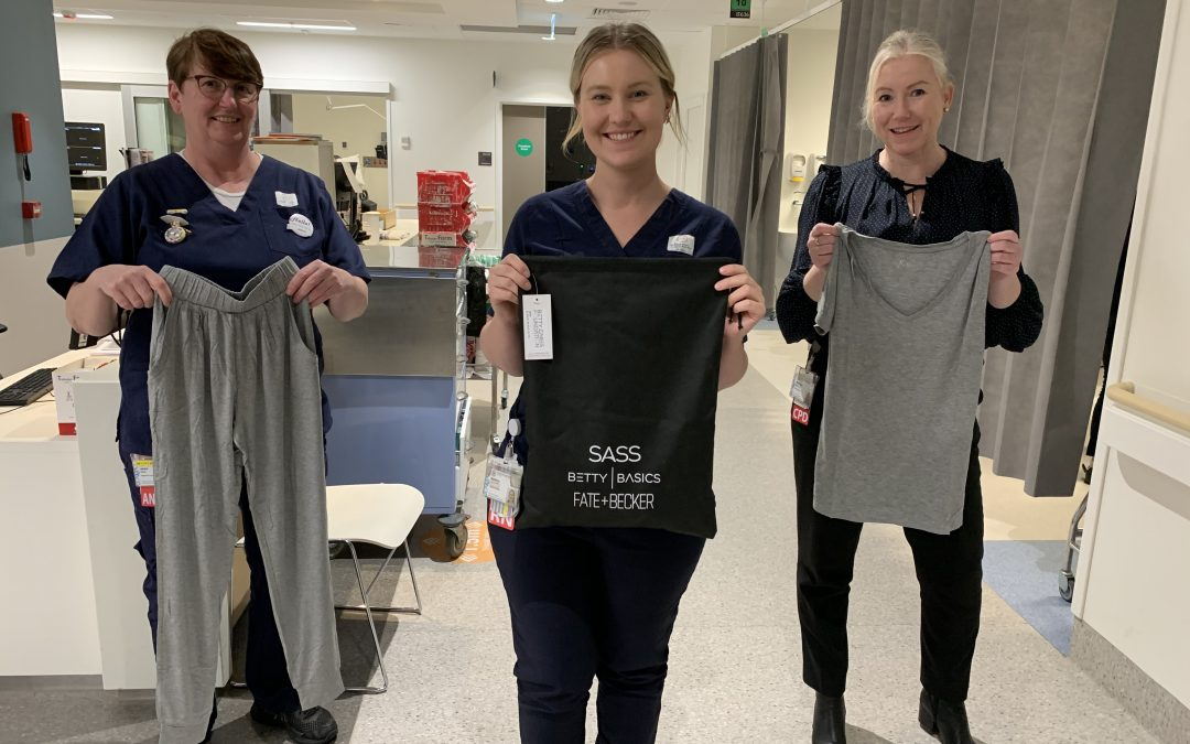 Care packs supporting vulnerable women