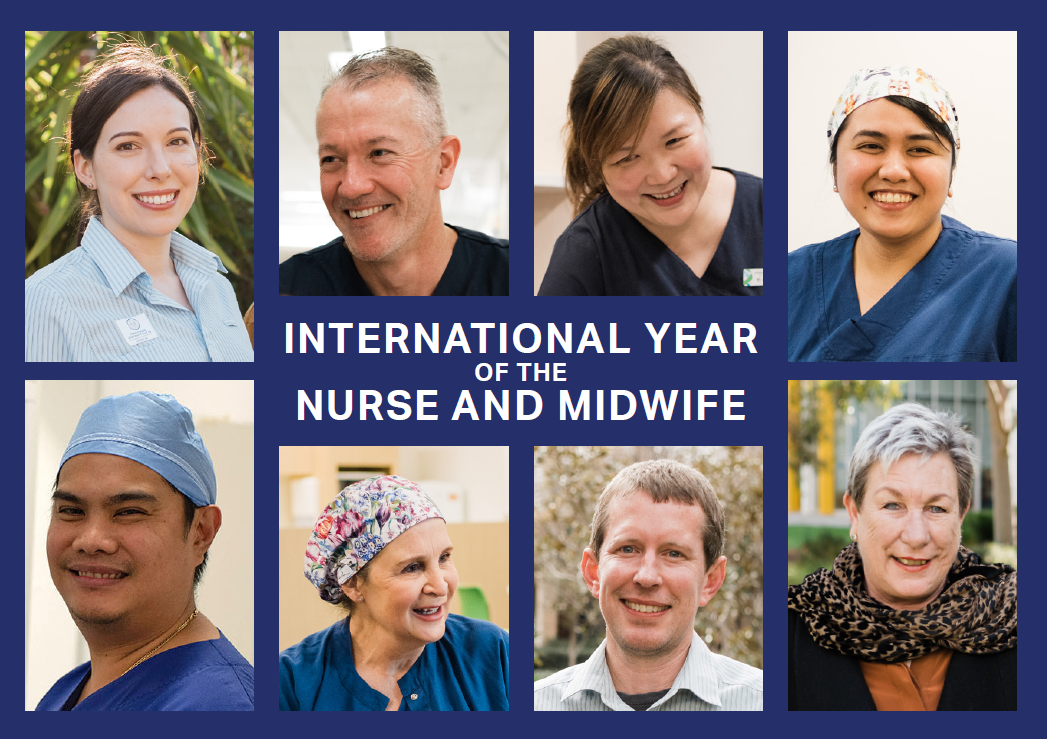 Help us say thank you to our nurses and midwives this International Year of the Nurse and Midwife