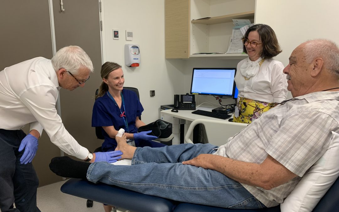 Initiative helping remote consumers with diabetes-related foot complications