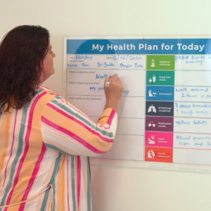New initiative sees more visual care plans for patients