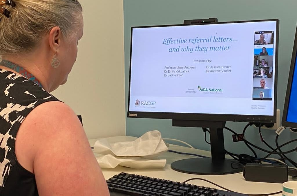 RACGP webinar – Effective referral letters…and why they matter