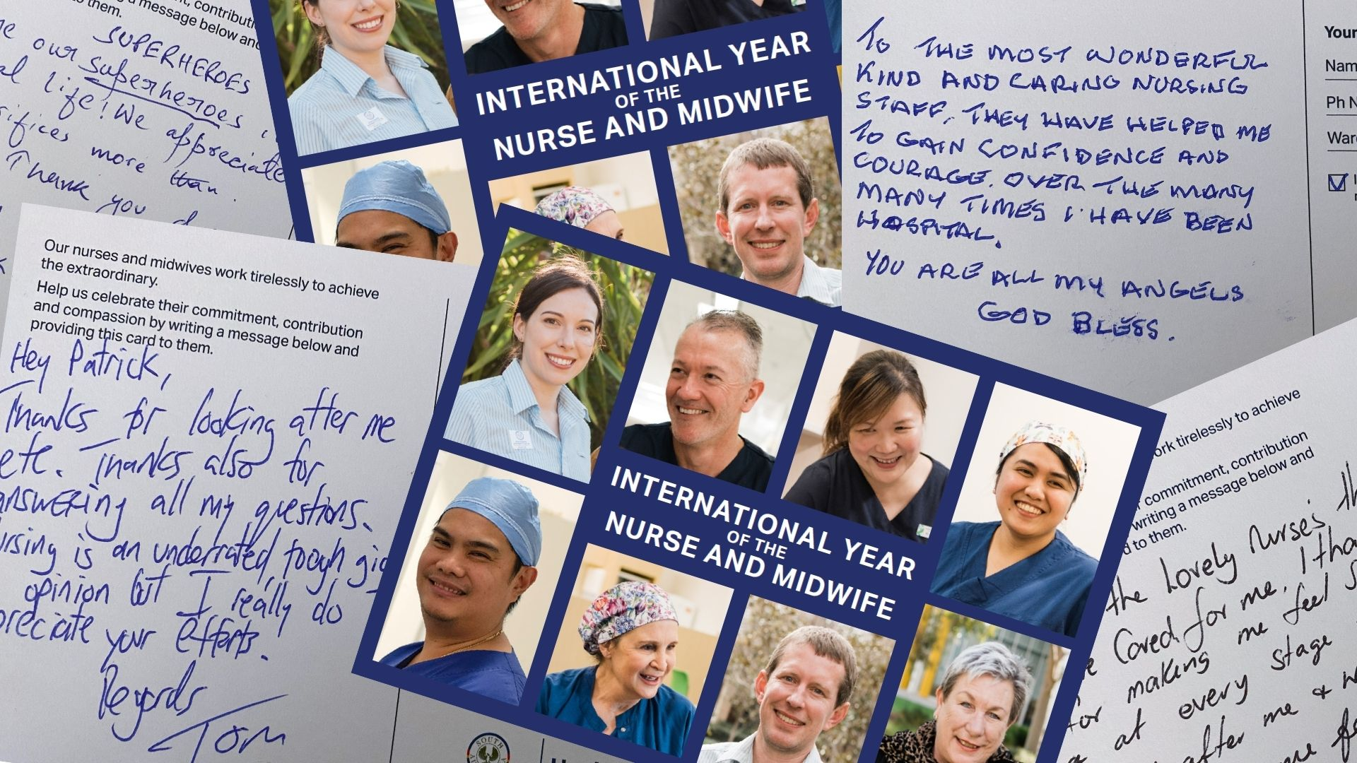 Nurses receive overwhelming messages of thanks