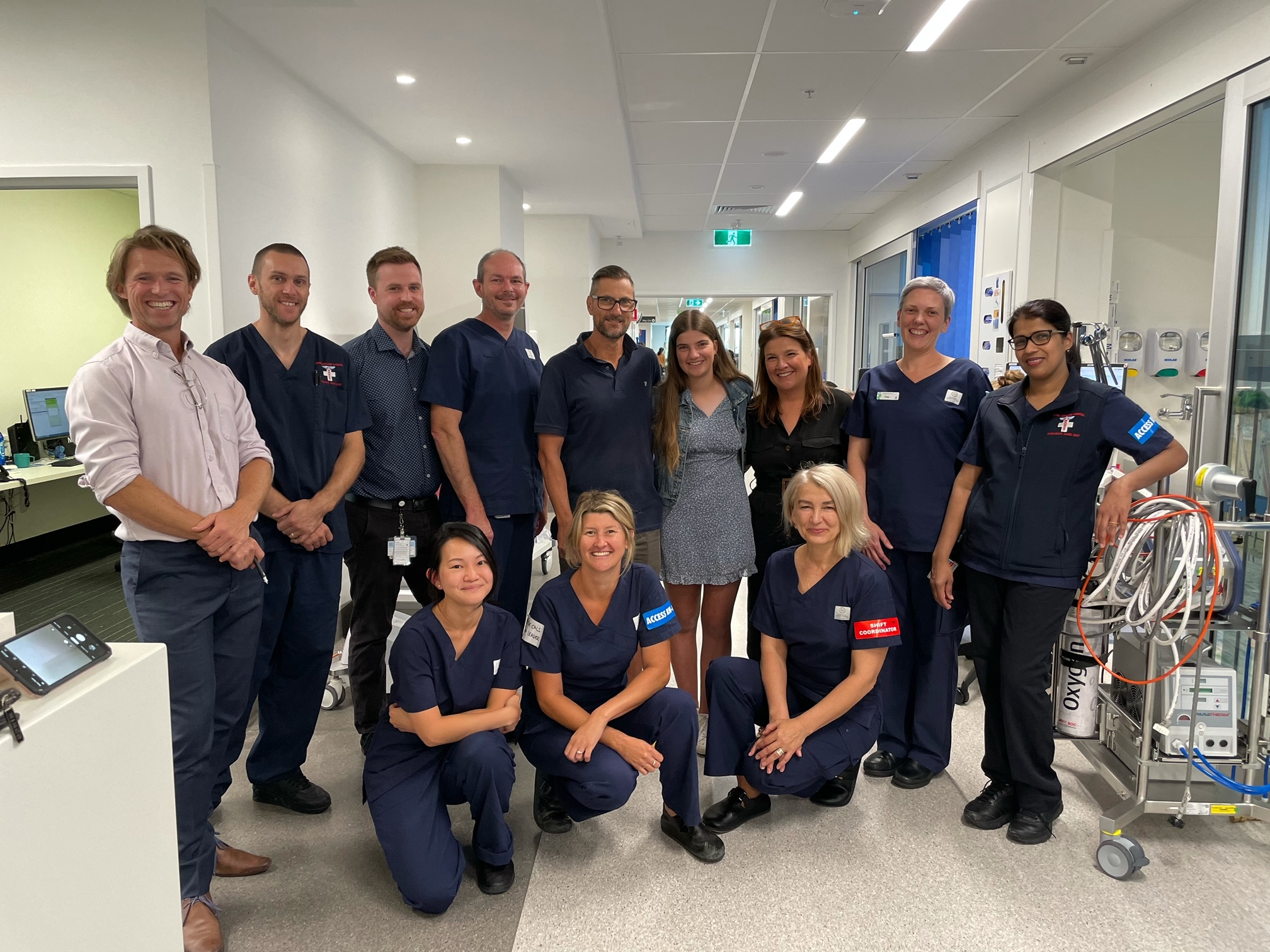 RAH ICU patient says thank you to those that saved his life