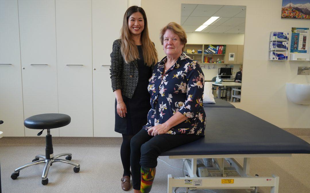 Prehabilitation improves lower limb amputation journey