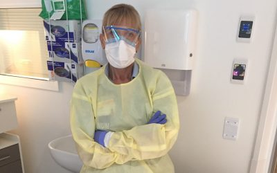 Infection Prevention nurse recognised for COVID response