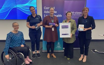 CALHN's award-winning NDIS Assessment team