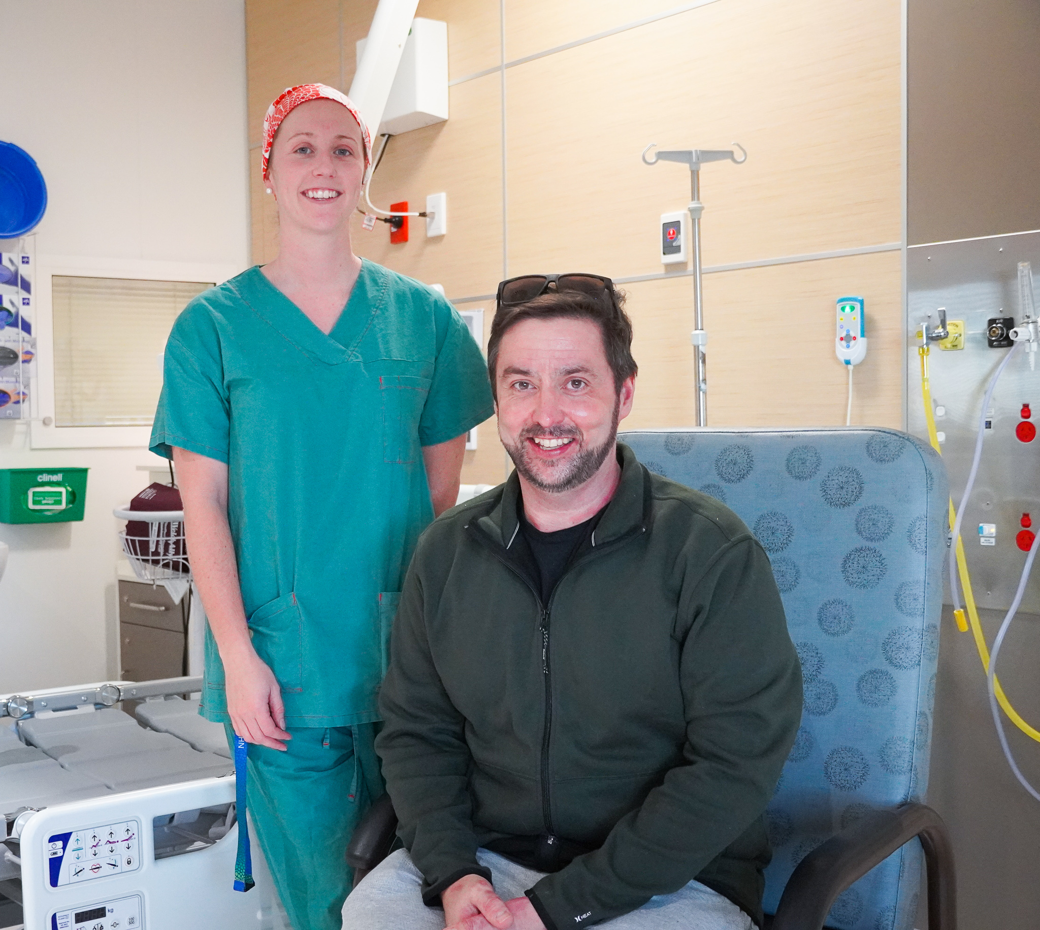 Burns patient recovery success at the RAH