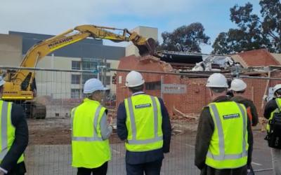 New milestone in The Queen Elizabeth Hospital redevelopment