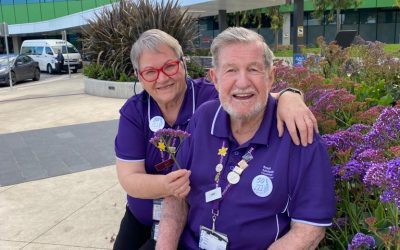 Husband and wife share love for volunteering at the RAH